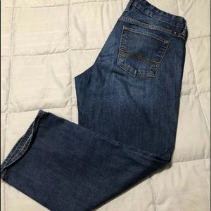 Lucky brand crop jeans size 10